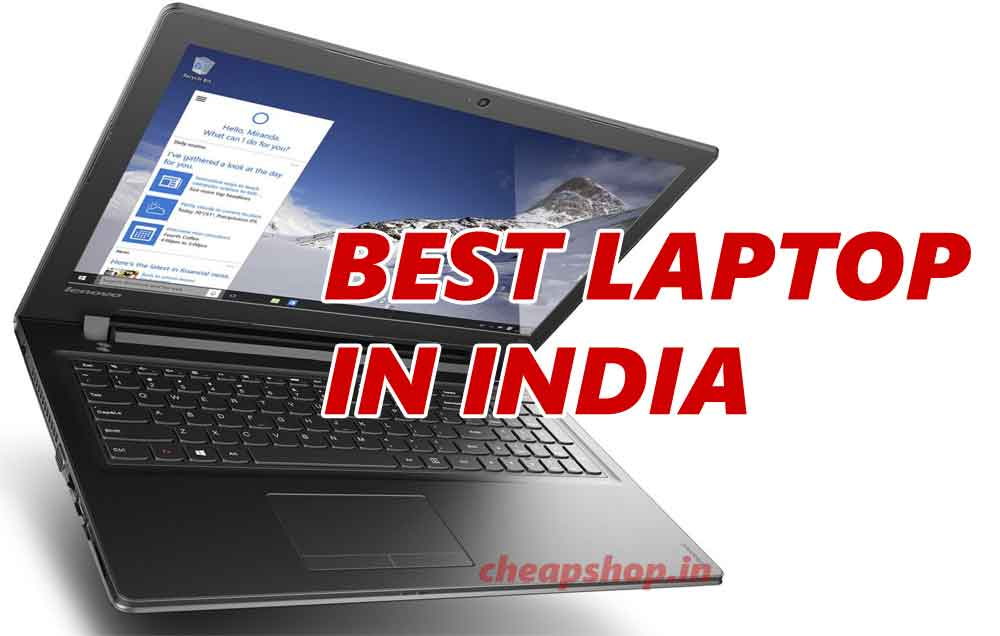 Best laptop in India 2016